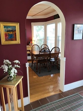 Provincetown Cape Cod vacation rental - Warmth Upon Entry in Foyer