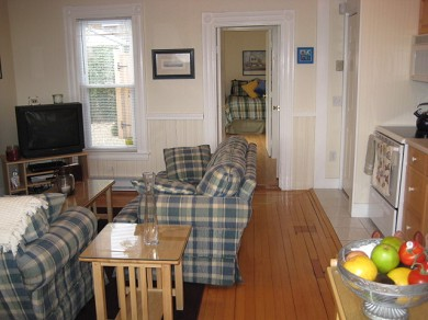 Provincetown Cape Cod vacation rental - Bright Living Area Facing Sun Filled Guest Bedroom