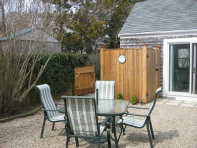 Provincetown Cape Cod vacation rental - Private Back Yard and Outdoor Shower