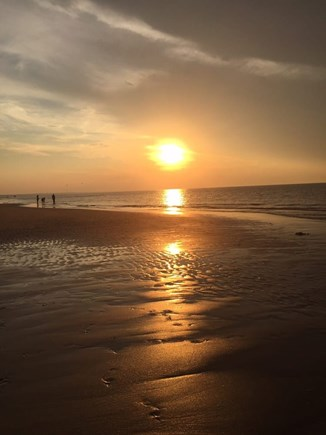 Dennis Cape Cod vacation rental - Sunset at Mayflower Beach