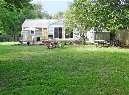 Chatham Cape Cod vacation rental - Play and relax in yard, borrow our bikes for the bike trail