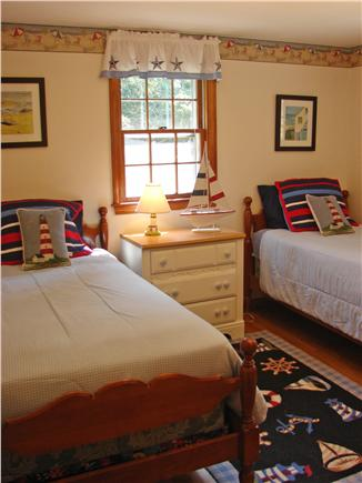 Chatham Cape Cod vacation rental - Twin bedroom on main floor with A/C unit