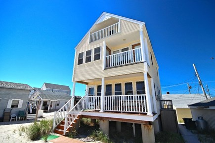Plymouth Ma. MA vacation rental - Beach Side of House