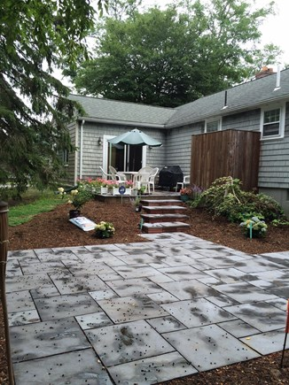 East Dennis/Scargo Hill Cape Cod vacation rental - New multi-level patio for great outdoor living space