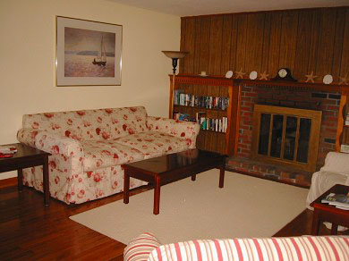East Dennis/Scargo Hill Cape Cod vacation rental - Living Room