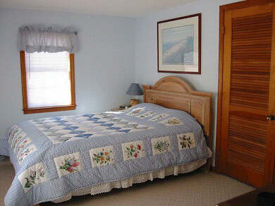East Dennis/Scargo Hill Cape Cod vacation rental - Master Bedroom with adjoining 1/2 bath