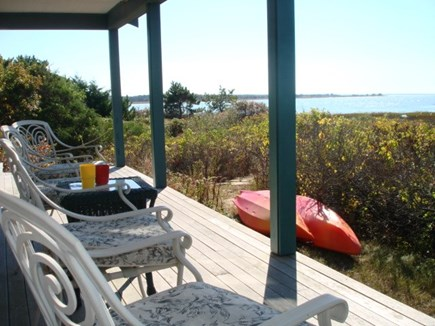 Wellfleet Cape Cod vacation rental - Front covered porch
