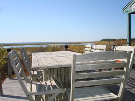 Wellfleet Cape Cod vacation rental - Deck side