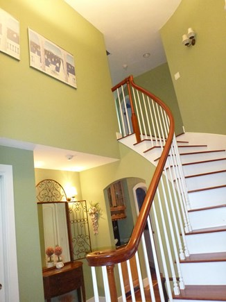 Orleans Cape Cod vacation rental - Front entrance staircase