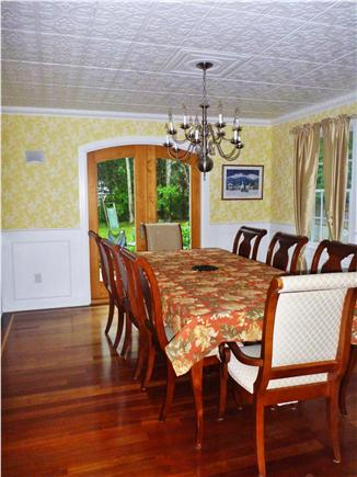 Orleans Cape Cod vacation rental - The beautiful formal dining room