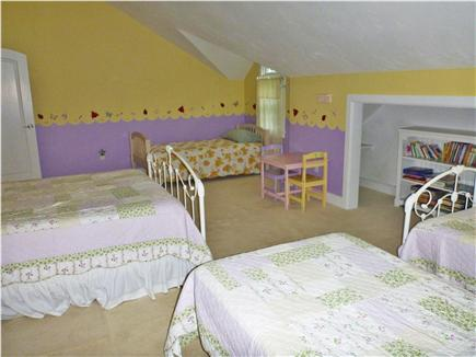 Orleans Cape Cod vacation rental - The second bedroom with queen and three twins
