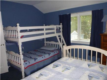 Orleans Cape Cod vacation rental - Bedroom three, bunk beds plus one twin