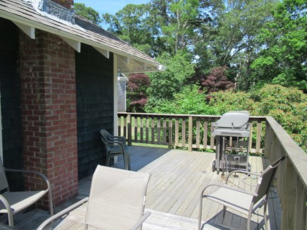 9 Pond Road, Orleans Cape Cod vacation rental - Deck Showing Natural Gas Grill