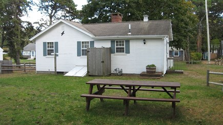 Dennisport Cape Cod vacation rental - Back Yard