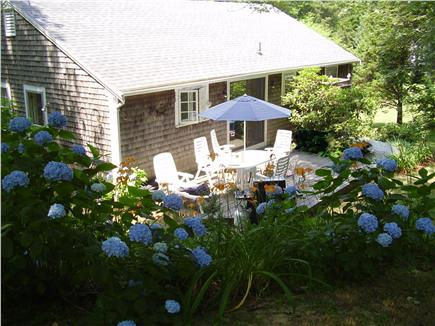 Orleans Cape Cod vacation rental - View of the deck