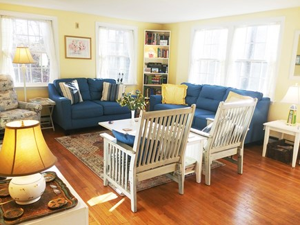 Orleans Cape Cod vacation rental - Bright, comfortable living room