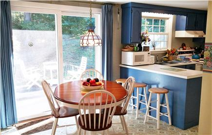 Orleans Cape Cod vacation rental - Dining room with sliders to the deck
