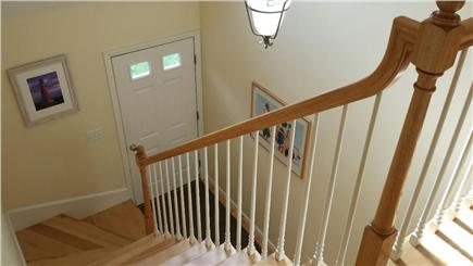 Eastham Cape Cod vacation rental - Main hallway with skylight