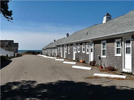 Dennis Cape Cod vacation rental - Water just beyond the cottages