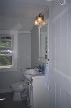 South Chatham Cape Cod vacation rental - Upstairs bathroom - with walk-in shower