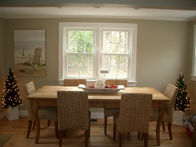 South Chatham Cape Cod vacation rental - Eat in Kitchen- Back of Kitchen