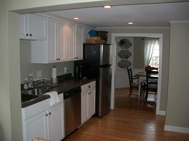 South Chatham Cape Cod vacation rental - Kitchen- Right Side