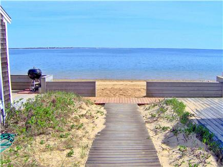 Wellfleet Cape Cod vacation rental - 30 Steps to our beach