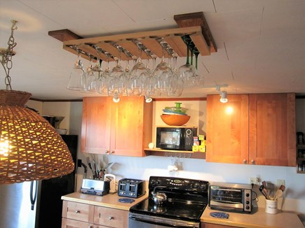 Wellfleet Cape Cod vacation rental - Kitchen. Full sized appliances, full compliment of cookware.