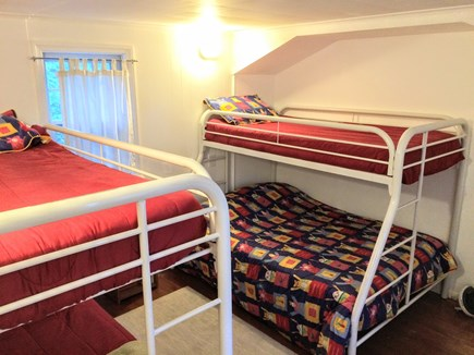 Wellfleet Cape Cod vacation rental - The 'Bunk Bed'' bedroom, 1st floor.  A Twin/Twin and a Twin/Full.