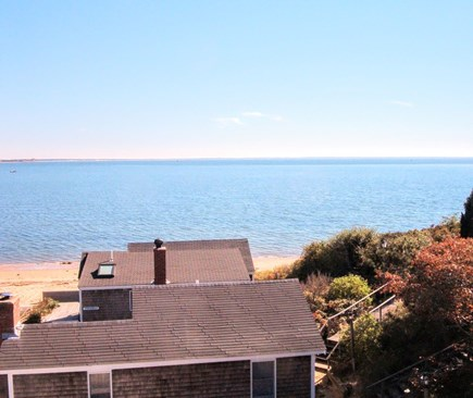 Wellfleet Cape Cod vacation rental - This is the actual view from the Main House.