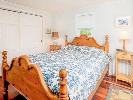 Wellfleet Cape Cod vacation rental - 2nd floor rear bedroom. Queen bed. Adjoining full bathroom