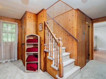 Wellfleet Cape Cod vacation rental - New (2019) stairs carpeting.