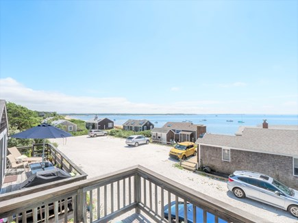 Wellfleet Cape Cod vacation rental - This is the view from our 40 foot mahogany deck.