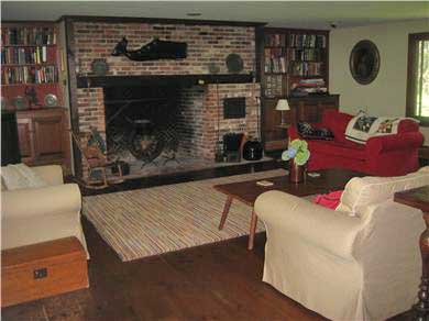 West Chatham Cape Cod vacation rental - Living Room