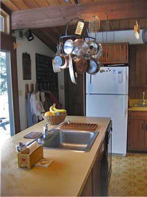 West Chatham Cape Cod vacation rental - Kitchen w/sliding glass doors that look over front yard