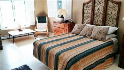 West Chatham Cape Cod vacation rental - Master Queen Bedroom w/private access to bathroom