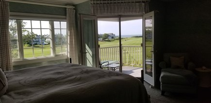 New Seabury New Seabury vacation rental - Master Bedroom with beautiful view of the Vineyard!