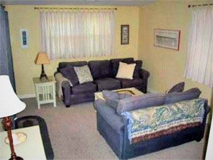 West Yarmouth Cape Cod vacation rental - Den area with Queen pull-out