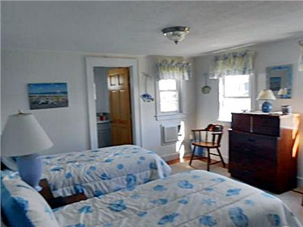 West Dennis Cape Cod vacation rental - Down stairs back Bedroom/ quite and serene