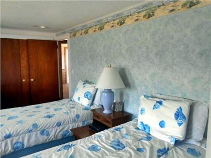 West Dennis Cape Cod vacation rental - First floor bedroom with private bath