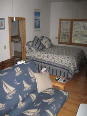 West Dennis Cape Cod vacation rental - Master Suite/  upper   deck is off this room
