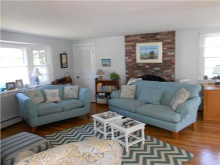 west dennis  Cape Cod vacation rental - Large open living room