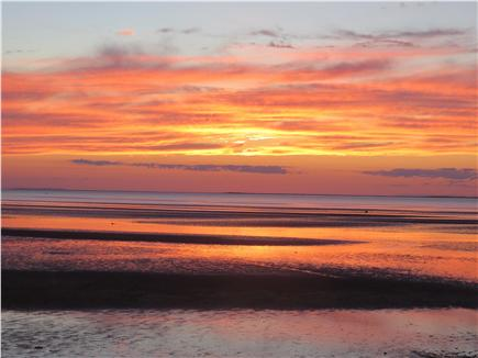 Eastham Cape Cod vacation rental - Sunset at low tide ....the colors are always so different