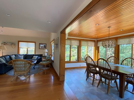 Eastham Cape Cod vacation rental - Open Living and Dining Area for great hanging out for your family