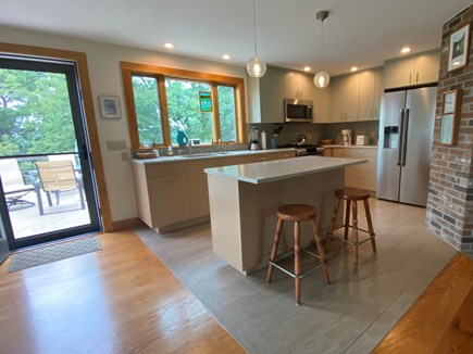 Eastham Cape Cod vacation rental - Kitchen right off the deck for easy access