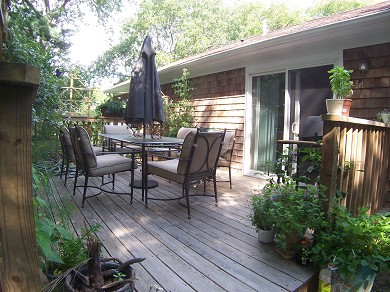 Osterville Osterville vacation rental - Deck w/Gas Grill