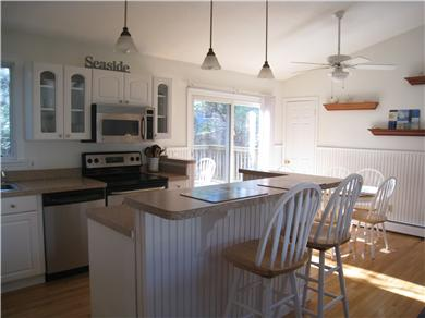 Osterville Osterville vacation rental - Open kitchen and dining area