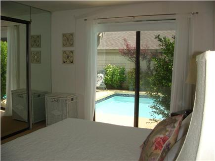 New Seabury, Mashpee New Seabury vacation rental - Master Bedroom  with slider to pool