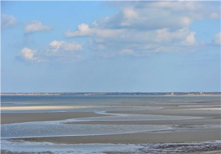 Brewster, old historic district Cape Cod vacation rental - Spend the day at beautiful Crosby beach - low tide shown
