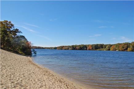 South Yarmouth Cape Cod vacation rental - A picture-perfect beach on Long Pond!  Live, Love & Enjoy!